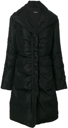 Versace Pre-Owned Padded Mid-Length Coat