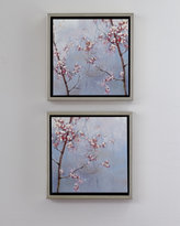 Horchow Two Cherry Blossom Prints