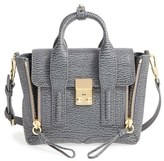 3.1 Phillip Lim 'Mini Pashli' Leather Satchel - Grey