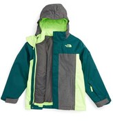 The North Face Boy's 'Boundary' Triclimate 3-In-1 Jacket