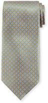 Stefano Ricci Small Medallion-Print Silk Tie