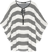 Vix Striped voile kaftan