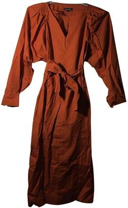soeur Orange Cotton Dresses
