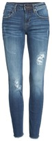 Vigoss Women's Jagger Distressed Skinny Jeans