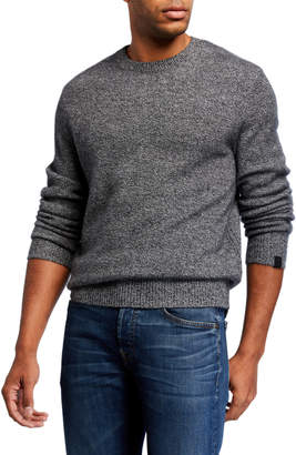 Rag & Bone Men's Haldon Crewneck Marled Cashmere Sweater