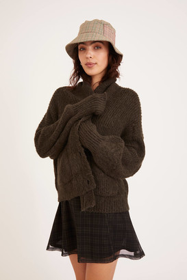 Urban Outfitters Shelly Shawl Collar Cardigan
