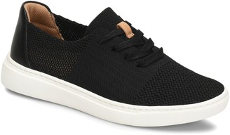 Comfortiva Lace-Up Knit-Mesh Sneakers - Trista