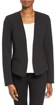 Petite Women's Halogen Open Front Jacket