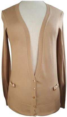 Christian Dior Beige Silk Knitwear