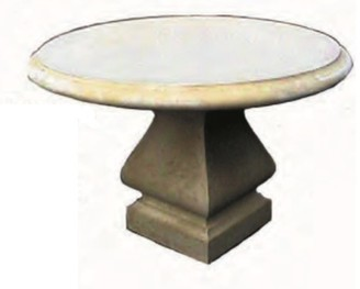 Toppco Outdoor Round Dining Table