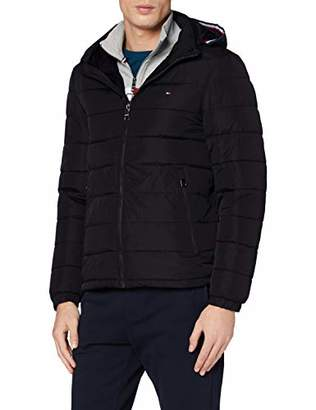 Tommy Hilfiger Men's Quilted Hooded Jacket Bomber,XXX-Large (Size:XX)