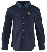 Lyle & Scott Navy Check Shirt