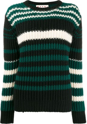 Marni Striped Knit Jumper