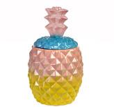 Pols Potten Pineapple Jar - Multi/Pink