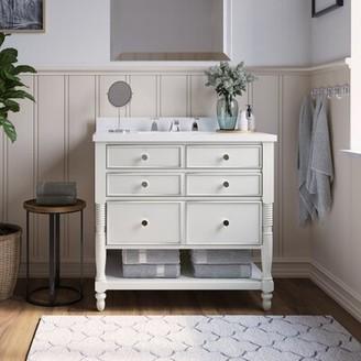 "Martha Stewart Bedford Cottage 36"" Single Bathroom Vanity Set"