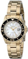 Invicta Women's 17596 Pro Diver Analog Display Swiss Quartz Gold Watch