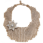 Lulu Frost Single Mesh Necklace - Gold