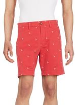 Gant Anchor Embroidered Bermuda Shorts