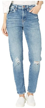Mavi Jeans Cindy High-Rise Mom Jean in Mid Ripped LA Vintage (Mid Ripped LA Vintage) Women's Jeans