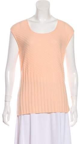 Sleeveless Cashmere Top