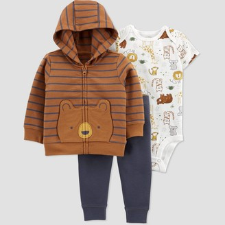 Just One You Made By Carter's Baby Boys' Bear Short Sleeve Top & Bottom Set - Just One You® made by carter's