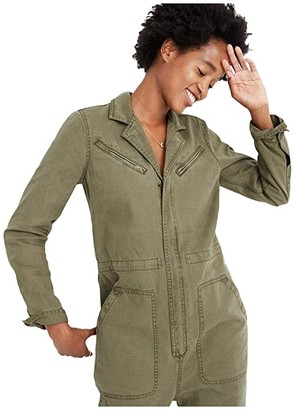 Madewell Flight Suit Coverall Jumpsuit (British Surplus) Women's Jumpsuit & Rompers One Piece