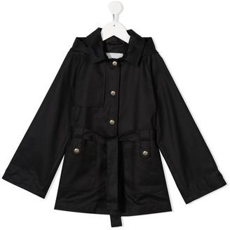 Herno Hooded Twill Coat