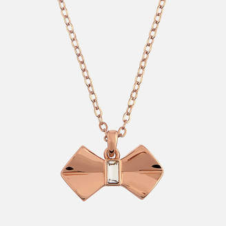 Ted Baker Women's Sarahli Solitaire Bow Pendant