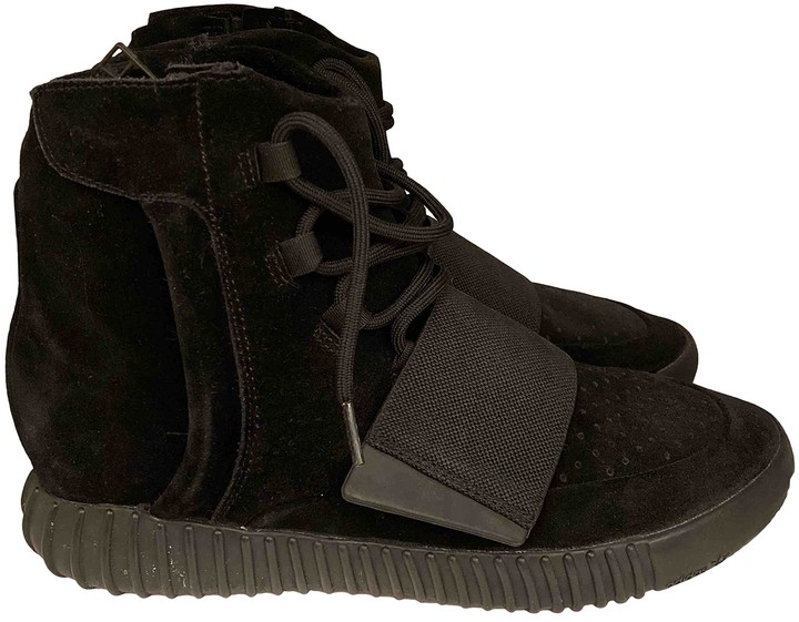 Yeezy X Adidas Boost 750 Black Suede Trainers