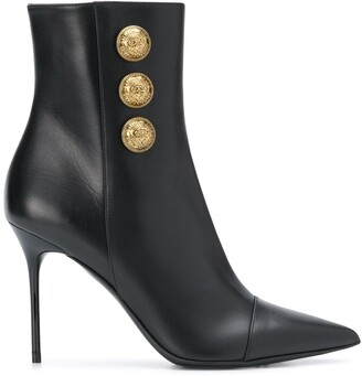 Balmain Roni pointed toe ankle boots