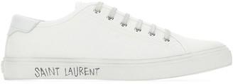 Saint Laurent Malibu Low-Top Sneakers