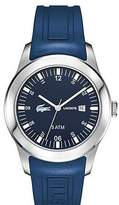 Lacoste 2010672 Advantage Blue Silicone Strap Men's Watch
