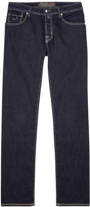 Jacob Cohen Dark blue slim-leg jeans