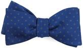 The Tie Bar Royal Blue Sparkler Medallions Bow Tie