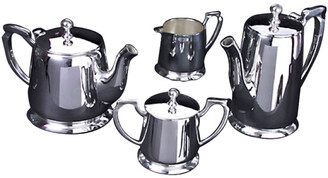 Godinger Silver-Plated 4Pc Coffee Set