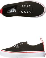 Vans Kids Authentic Elastic Lace Shoe Black