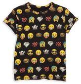 Eleven Paris Little Boy's & Boy's Allover Emoji Graphic Printed Tee