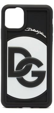 Dolce & Gabbana Logo-embossed Iphone 11 Pro Max Phone Case - Black White