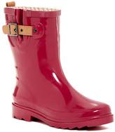 Chooka Top Solid Mid Waterproof Rain Boot