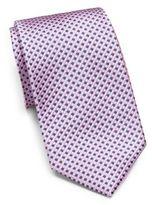 Saks Fifth Avenue Silk Dot Tie