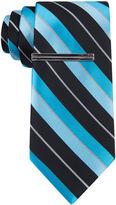 Jf J.Ferrar JF Double Stripe Slim Tie