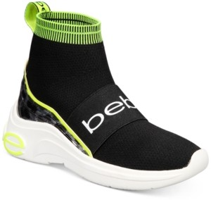 Bebe Locked Sock Sneakers Women's Shoes