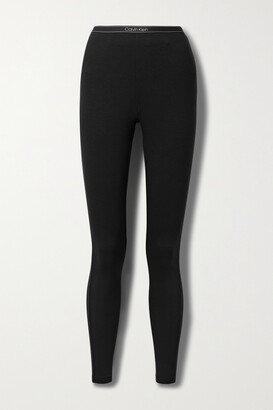 Calvin Klein Underwear - Stretch-modal Jersey Leggings - Black