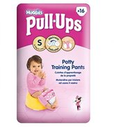 Huggies Pull-Ups® Disney Princesses Girl Potty Size 4 Training Pants 1 X 16 Pack