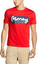 Money Clothing Men's Sticker Tee T-Shirt