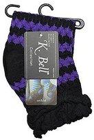 K. Bell K-Bell Textured Stripe Anklet Socks 67958