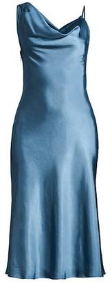 Fame & Partners The Carmen Satin Dress