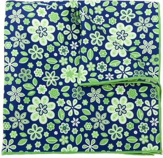 Kiton Floral Print Handkerchief