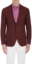Barneys New York MEN'S HERRINGBONE TWO-BUTTON SPORTCOAT
