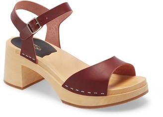 Swedish Hasbeens Mia Platform Sandal